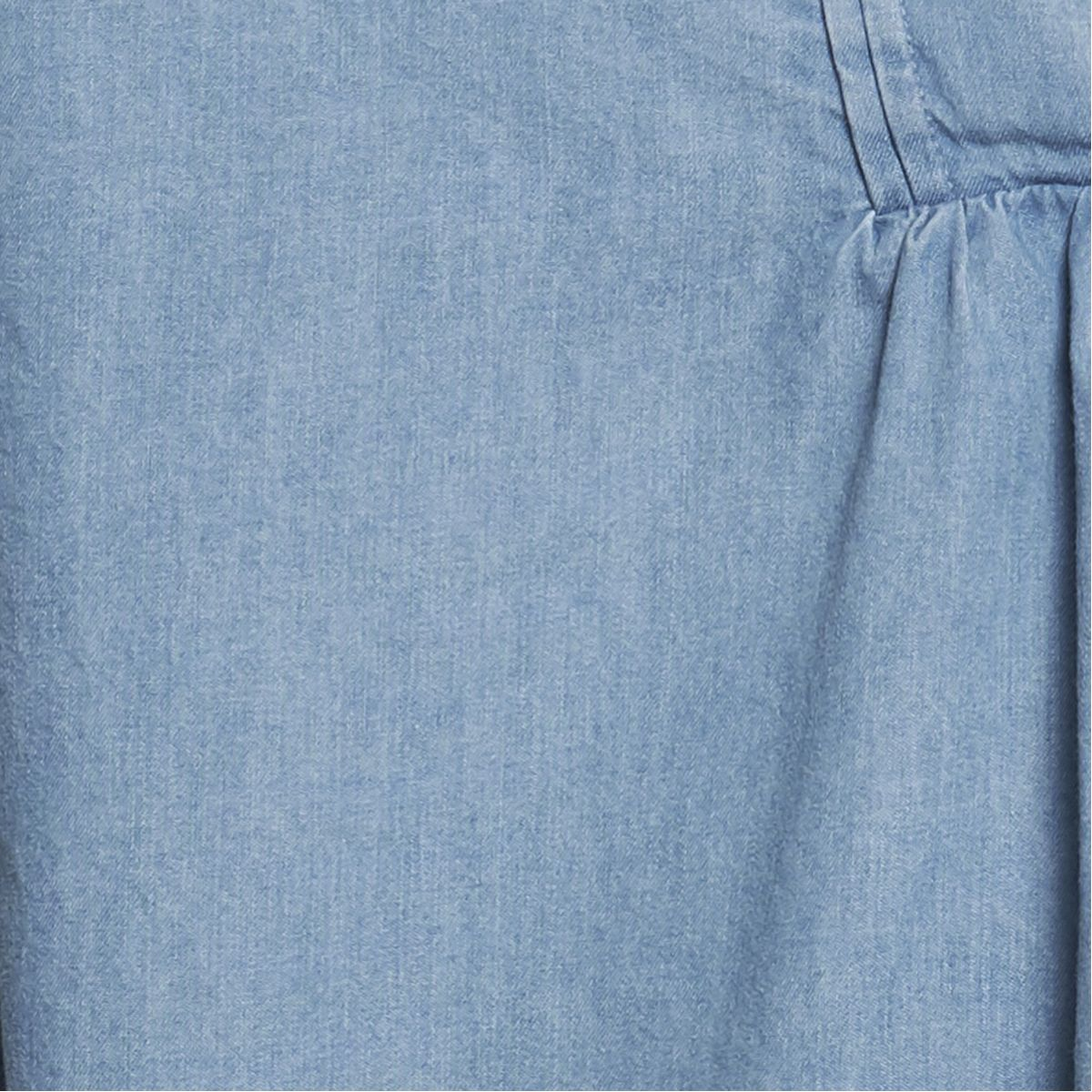 Chemisier denim bleu clair