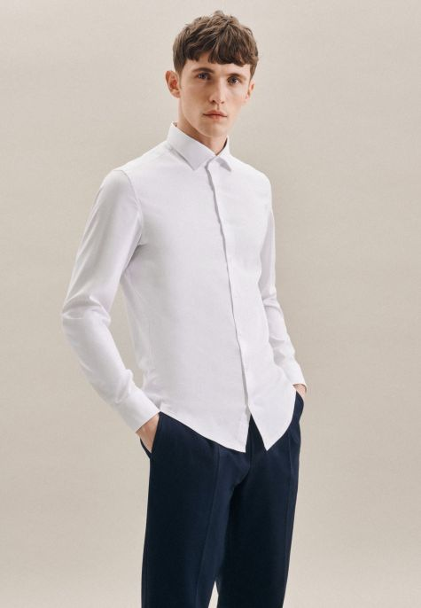 Chemise performance extra-slim blanche