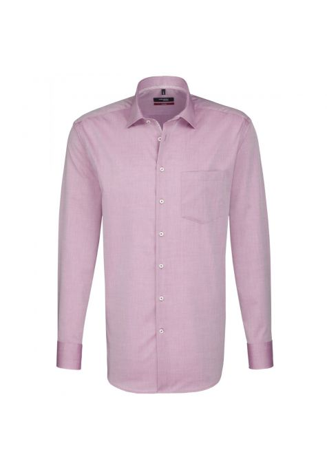 Chemise MODERN rouge chambray manches extra-longues