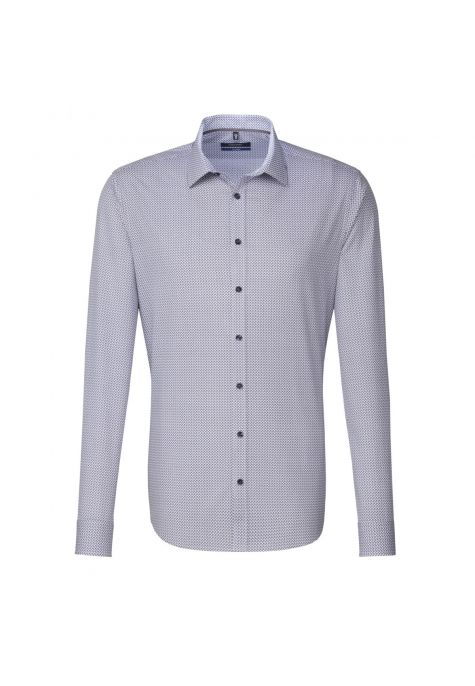 Chemise TAILORED Printed lilas