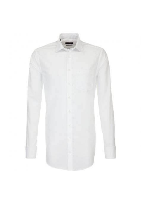 Chemise Splendesto blanche poignets mousquetaires manches extra longues